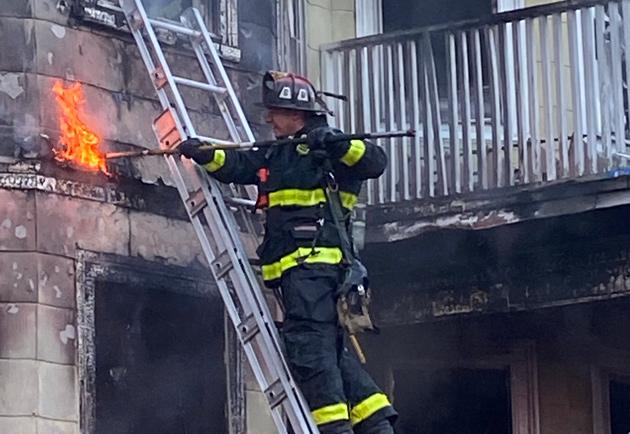 Seaver Street fire