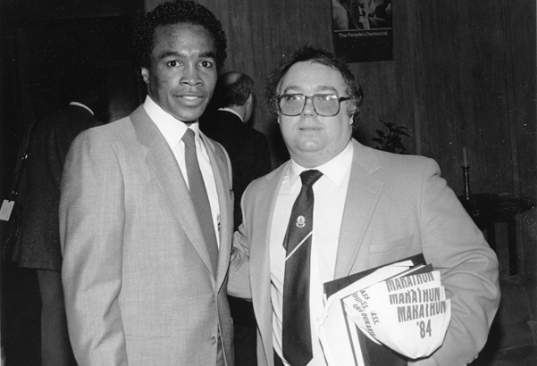 Sugar Ray Leonard in 1984