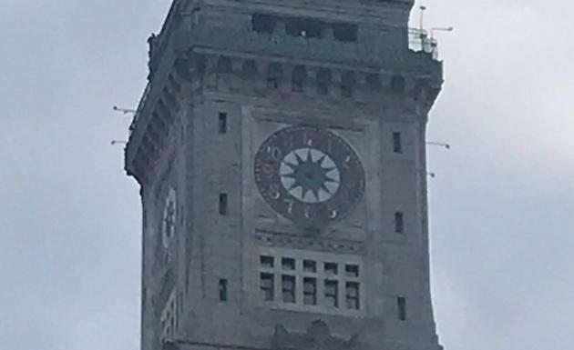 Custom House clock tower