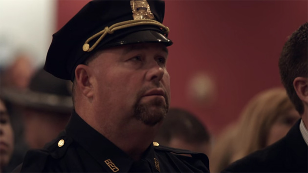 Twitchell being promoted to sergeant in 2013