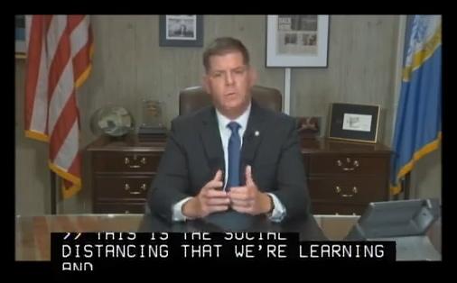 Walsh talking about coronavirus