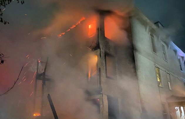Waverly Street fire