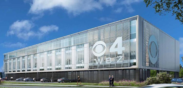 Proposed new WBZ building on Soliders Field Road