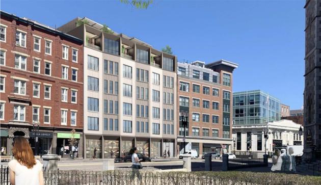 1395 Washington St. rendering