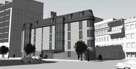 Proposed 25 Atlantic Ave. residential building
