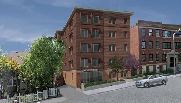 Proposed rendering of Wales Street building
