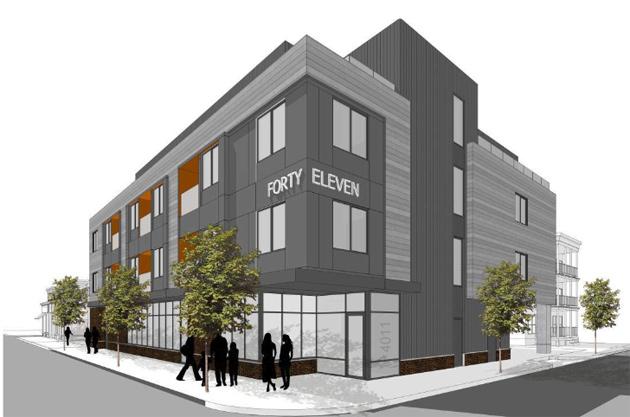 Proposed building at 4011 Washington St. in Roslindale