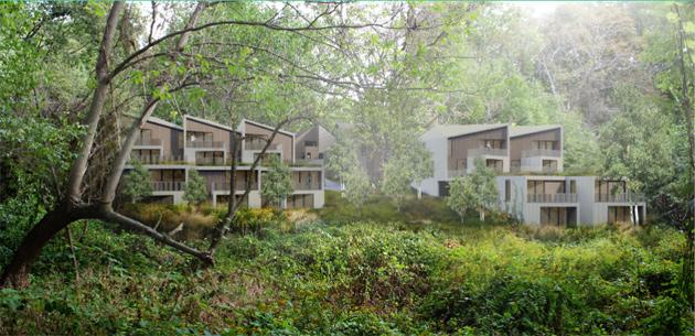Allandale Residences rendering