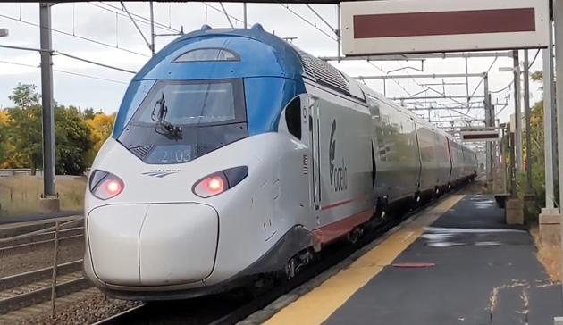 New Acela train