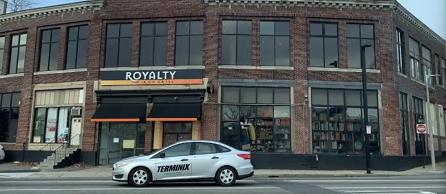 Rendering of new shop