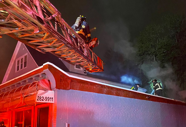 Bowdoin Street fire