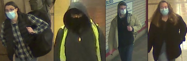 Wanted for stealing MBTA property