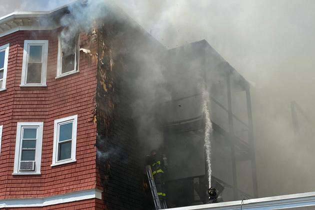 Fayston Street fire