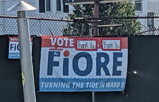 Fiore hopes to turn the tide in District Five