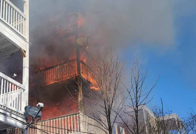 Fuller Street fire