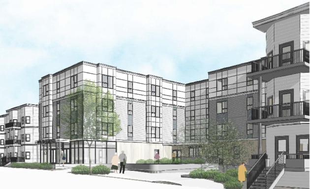 Rendering of Hamilton Street proposal