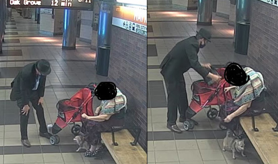 Man nabbed in the act of robbing an elderly woman at Haymarket