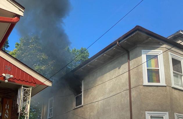 Hazelton Street fire