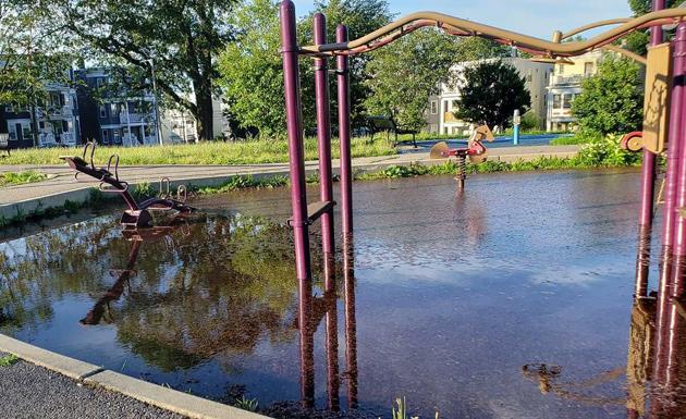 Floode Ronan Park playground