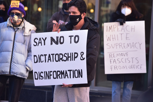 Sign: Say no to dictatorship and disinformation