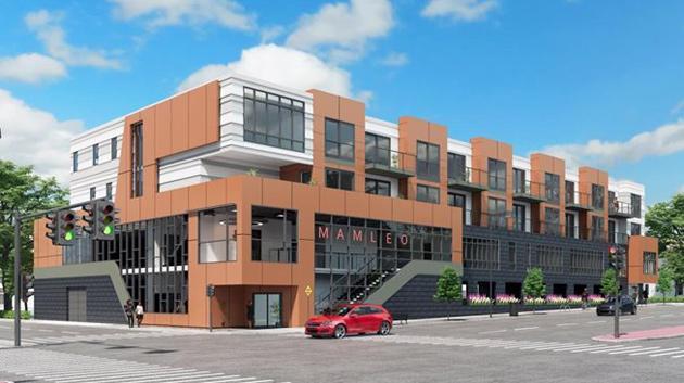 Proposed new MAMLEO building