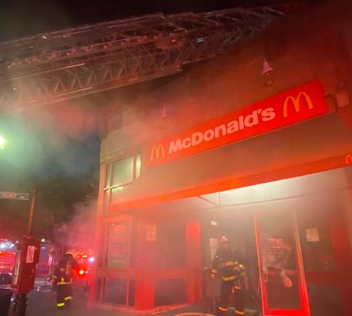 Smokey McDonald's in Codman Square