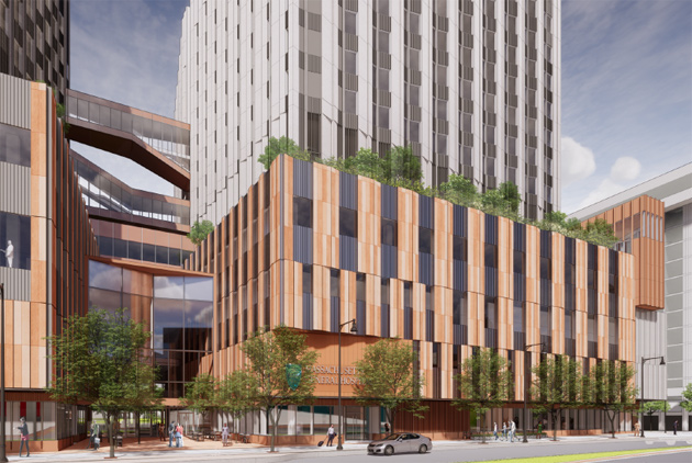Proposed new MGH building