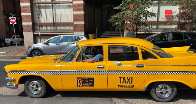 Old cab on South Street