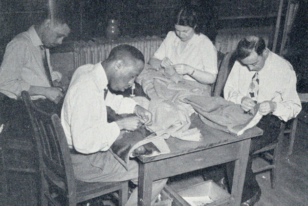Stitching things in old Boston
