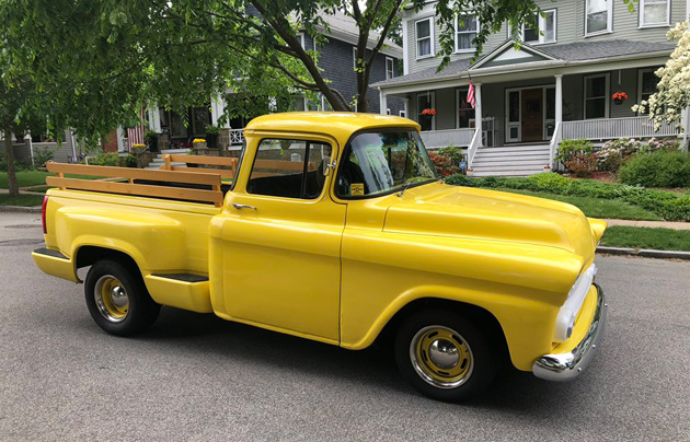 Old truck in West Roxbury