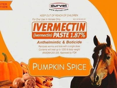 Pumpkin-spice ivermectin