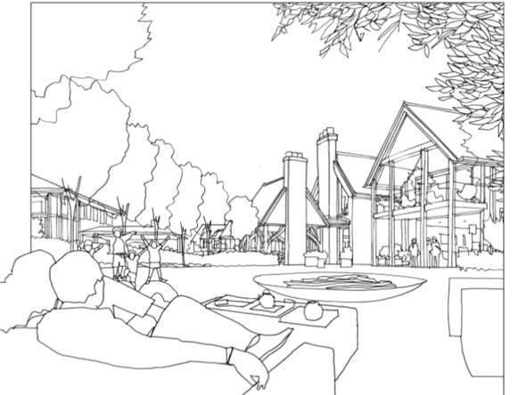 Rendering of proposed Rockwood Manor