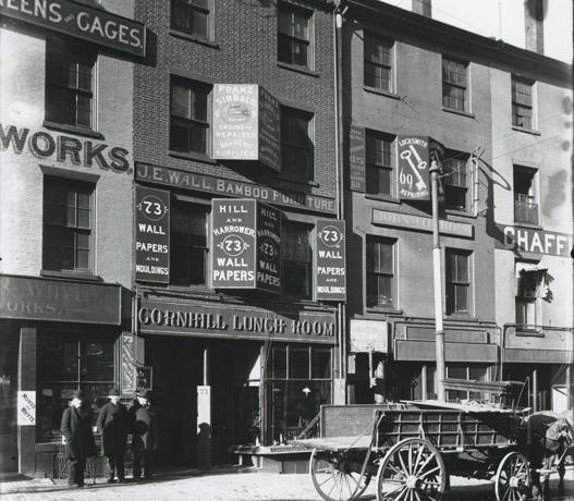 Scene in old Boston