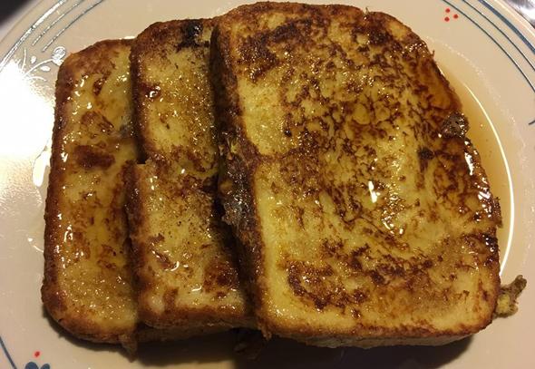 Fresh French toast