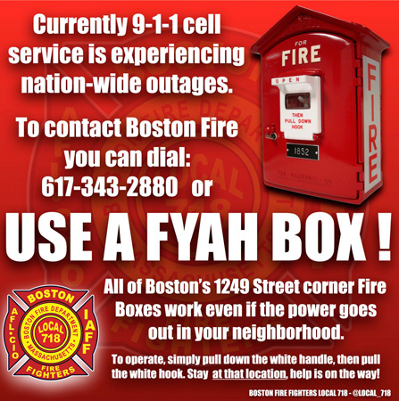 Boston fire boxes always work