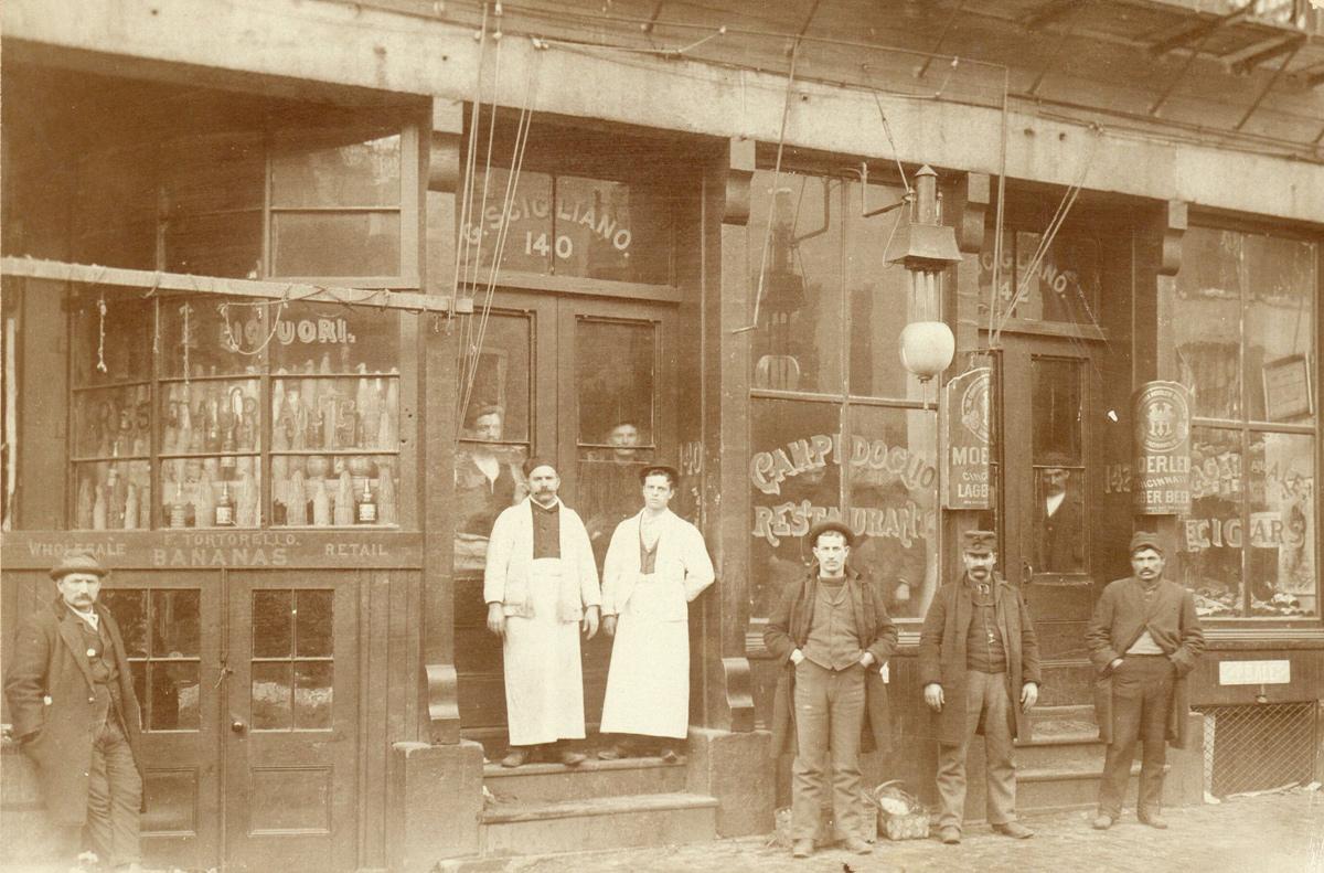 Old Boston street scene