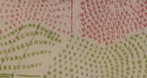 Blowup of Massachusetts driver's license