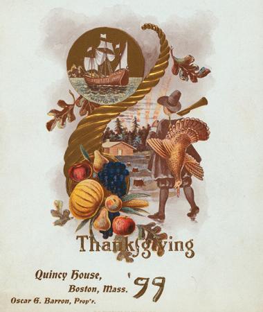 Quincy House menu