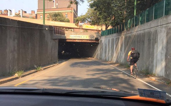 Bike on Storrow Drive
