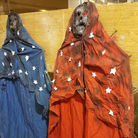 Costumes found in Government Center MBTA station