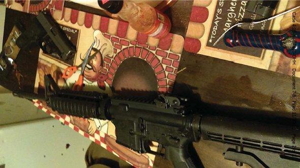 Machine gun allegedly stolen from Worcester armory