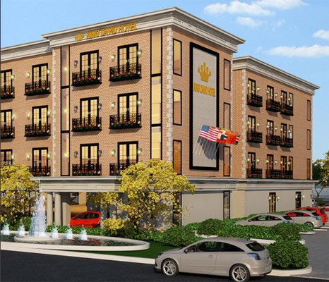 Proposed King David Hotel on VFW Parkway