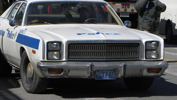 They just don't make police cruisers like they used to
