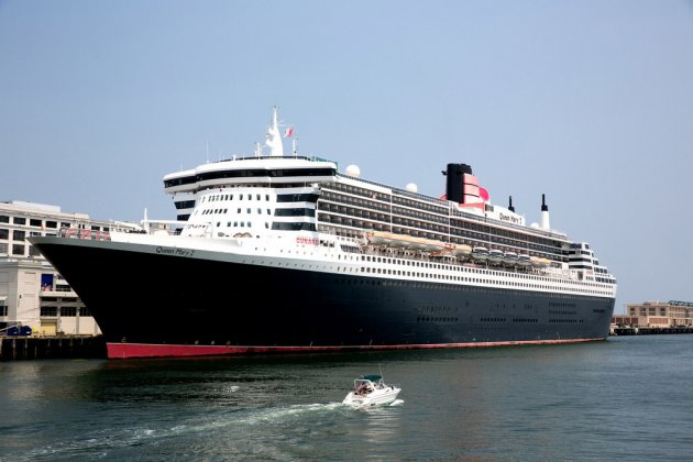 Queen Mary in Boston