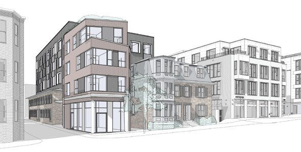 Proposed 1470 Tremont St. project