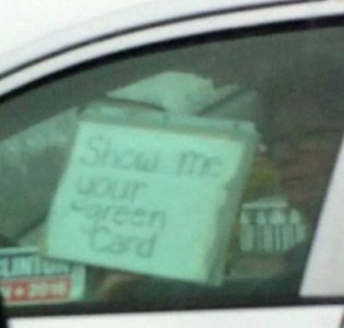 Green Card lady