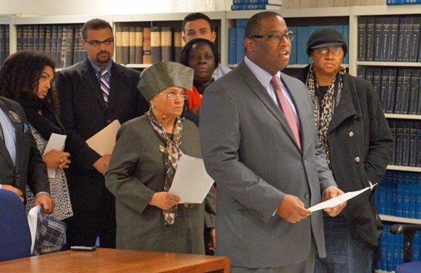 Tito Jackson speaks against proposed Grove Hall liquor store