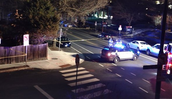 Mt. Auburn crime scene