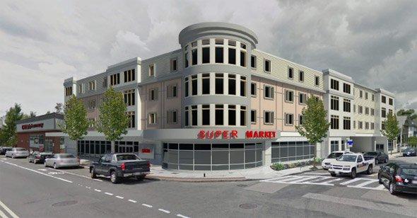 Proposed Parsons Crossing Building in Brighton Center