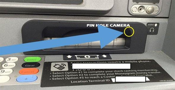 Debit-card reading 'skimmer' found on Cambridge ATM